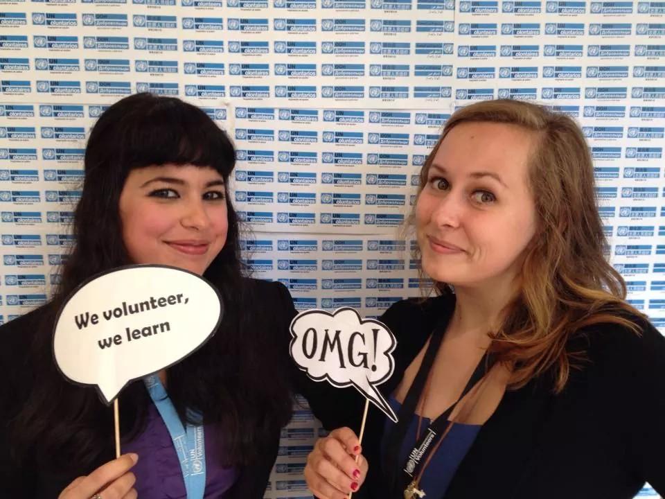 Stážistky OSN v Bonnu