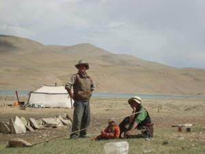 Tibetská_nomádská_rodina_Ladak_Indie_2011