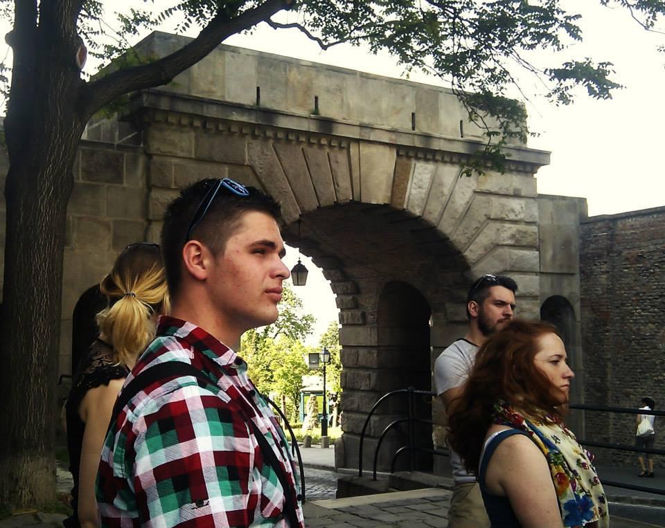 procházka Budapeští na školení We 4 EU - What are V4