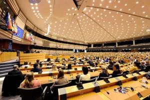První den v Parlamentu.