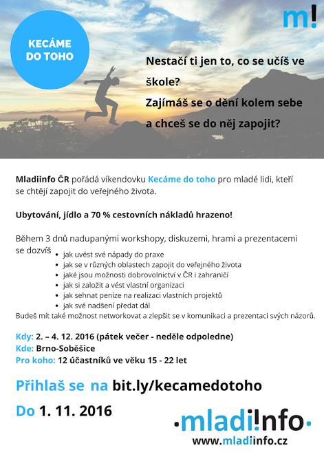 Mladiinfo ČR - Kecáme do toho