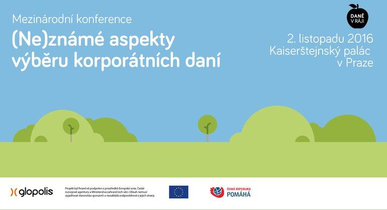 Konference: (Ne)známé aspekty výběru korporátních daní - Mladiinfo ČR