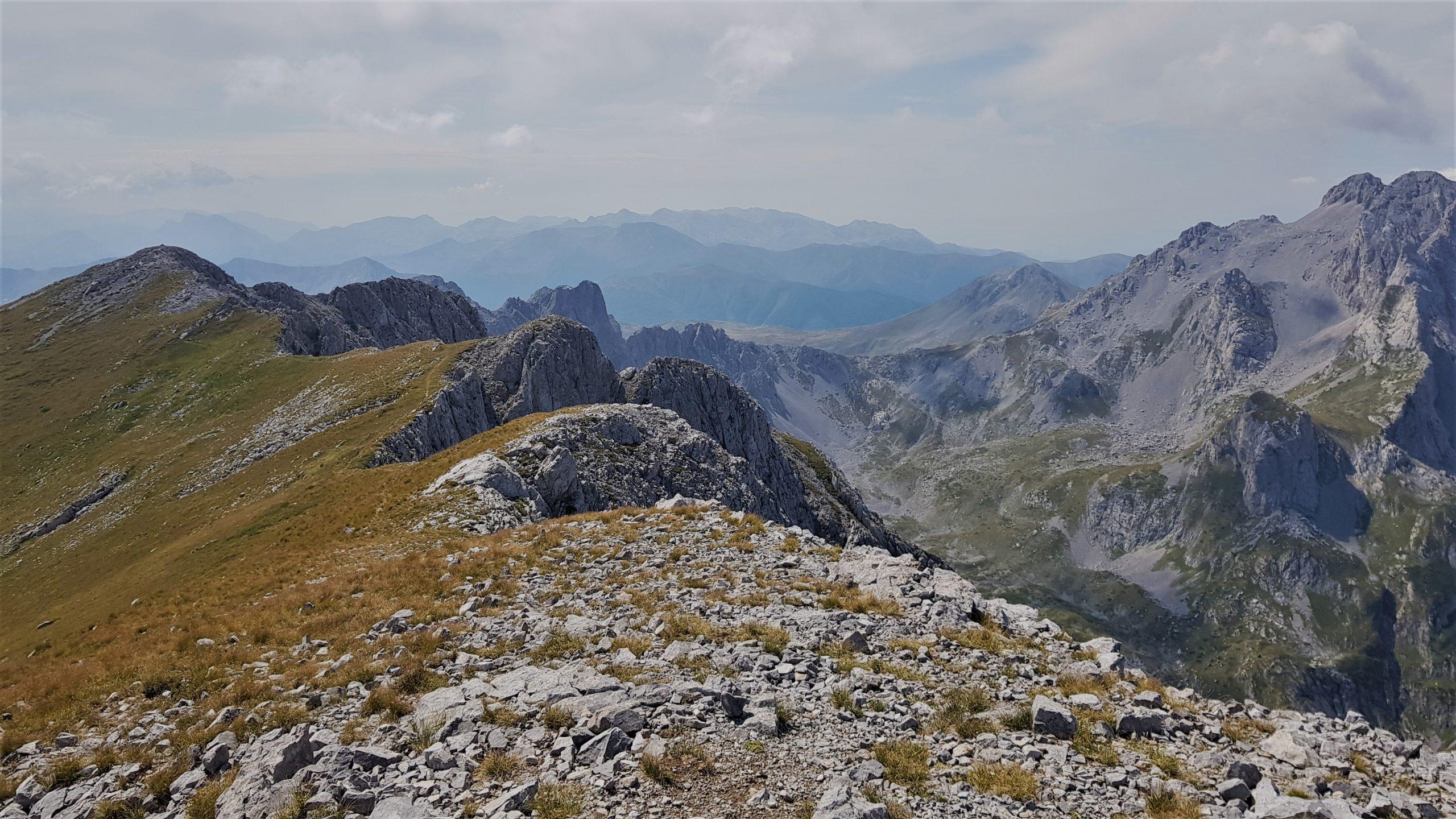 Pohoří Komovi v Černé Hoře