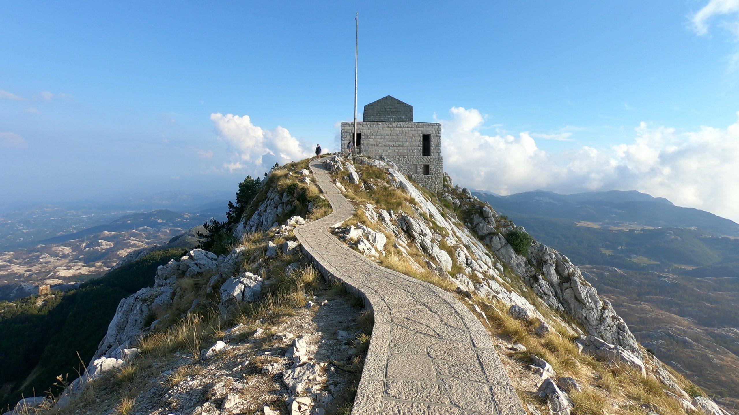 národní park Lovcen v Černé Hoře