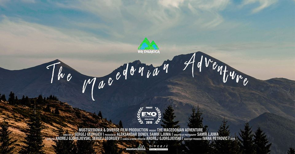Via Dinarica - A cover for the film about the hiking trail