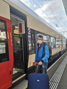 Travelling to my volunteering in Brno